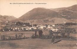 Châtillon De Ou En Michaille Canton Bellegarde Michaux 201 - Other Municipalities