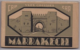 CARNET MAROC MARRAKECH   20 Cartes Complet - Marrakech