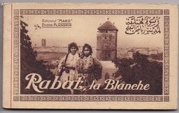 CARNET MAROC RABAT La Blanche    20 Cartes Complet - Rabat