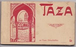 CARNET MAROC TAZA   20 Cartes Complet - Maroc