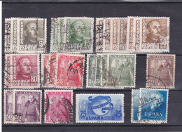 Lotje Spanje     Kaart A 450 - Timbres