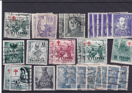 Lotje Spanje     Kaart A 451 - Timbres