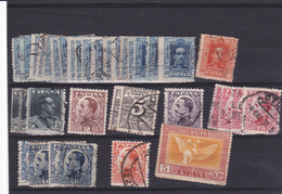 Lotje Spanje     Kaart A 452 - Timbres