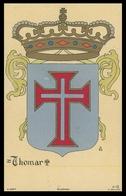 TOMAR - BRASÕES - (  Ed. A Editora 2ª Serie Nº 15)carte Postale - Santarem
