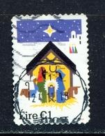 IRELAND - 2018 Christmas 1 Euro  Used As Scan - 1949-... République D'Irlande