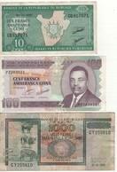BURUNDI  10/100/1'000 Francs  2007/2011/2009     3 Notes - Burundi
