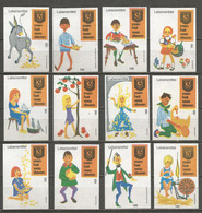 Germany 12 Old Matchbox Labels - Boites D'allumettes - Etiquettes