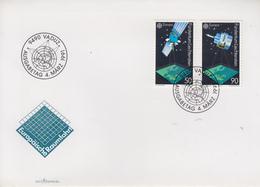 Enveloppe  FDC  1er  Jour   LIECHTENSTEIN   Paire  EUROPA    1991 - 1991