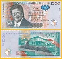 Mauritius 1000 Rupees P-63 2017 UNC - Mauritius