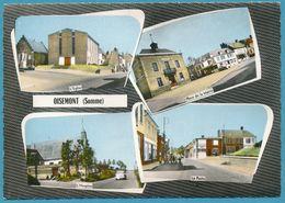 OISEMONT - L'Eglise Place De La Mairie L'Hospice La Poste - Multivues - Panhard Dyna Z Simca Ariane  Autos - Oisemont
