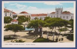 Cabo Verde - Ilha De Santiago - Cidade Da Praia Jardim Publico  - 1940s Real Photo Postcard - Cap Vert