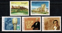 Portugal  1986 Yv. 1673/75*, 1676/77* MH (2 Scans) - Neufs
