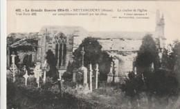 *** 55 ***  MILITARIA Guerre 14 /1 18  NETTANCOURT  Le Clocher De L'église - France