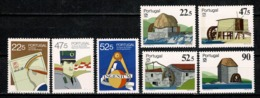 Portugal  1986 Yv. 1678*, 1679*, 1680*, 1681/84* MH (2 Scans) - Neufs