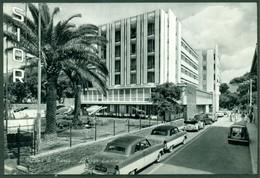 CARTOLINA - CV1771 MARINA DI MASSA (MS) Albergo Excelsior, Con Belle Auto, FG, Viaggiata 1959, Ottime Condizioni - Massa