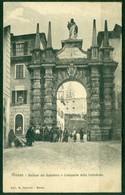 CARTOLINA - CV504 MASSA Portone Del Salvatore E Campanile Della Cattedrale, FP, Viaggiata 1907, Ottime Condizioni - Massa