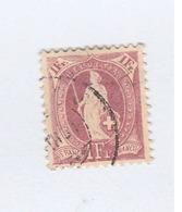 SUISSE  N° 78  Ob   Cote 6,00 - 1882-1906 Wappen, Stehende Helvetia & UPU