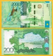 Kazakhstan 2000 Tenge P-41(1) 2012 UNC - Kazakhstan