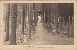Le Camp D' Elsenborn - Sous Bois Au Parc Des Officiers - Liege Obliteration Stempel Armee Belge Belgisch Leger - Elsenborn (Kamp)