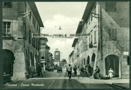 CARTOLINA - CV1772 CASCINA (Pisa PI) Corso Matteotti, FG, Viaggiata 1955, Ottime Condizioni - Pisa