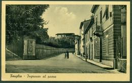 CARTOLINA - CV471 FAUGLIA (Pisa PI) Ingresso Al Paese, FP, Viaggiata 1946, Buone Condizioni - Pisa