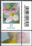 2018  Allem Fed. Deutschland   Mi. 3424 **MNH  EUR  Blumen: Wiesenschaumkraut (Cardamine Pratensis) - BRD