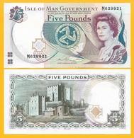 Isle Of Man 5 Pounds P-48 2015 UNC - Ile De Man / Iles Anglo-normandes