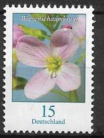 2018  Allem Fed. Deutschland   Mi. 3424R  **MNH Nr. 140 Blumen: Wiesenschaumkraut (Cardamine Pratensis) - BRD
