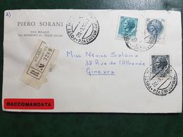 (17211) STORIA POSTALE ITALIA 1969 - 6. 1946-.. Repubblica