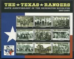 Dominica 2007 Texas Rangers Sheet Y.T. 3316/3324 ** - Dominique (1978-...)