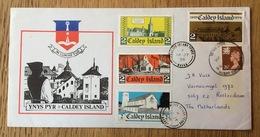 Great Britain Welsh Regional Caldey Island, Local Issue, Ynys Pyr, With Folder - Local Issues