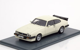 FORD CAPRI MK3 TURBO 1981 WHITE NEO 43328 1/43 WEISS BIANCA BLANCHE RESINE - Voitures, Camions, Bus
