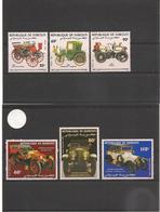 DJIBOUTI Années 1983/84 Voitures Anciennes  N° Y/T :591/93**- Et Bloc N° 190/192** Côte : 12,00 € - Djibouti (1977-...)