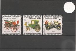 DJIBOUTI Année 1984 Voitures Anciennes  N° Y/T :591/93**- - Djibouti (1977-...)