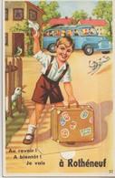 ROTHENEUF - Carte à Système - Au Revoir ! A Bientôt ! Je Vais à ....Rothéneuf ( Complète 10 Vues ). - Rotheneuf
