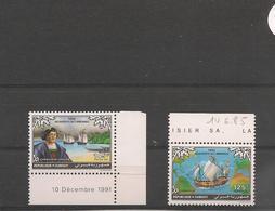 DJIBOUTI Années 1991/92 500 ème Anniversaire Découverte Amérique  N° Y/T :684-686** - Djibouti (1977-...)