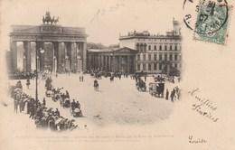 Paris-Berlin Automobile En 1901 - Arrivée Des Touristes à Berlin Par La Porte De Brandebourg - Mitte