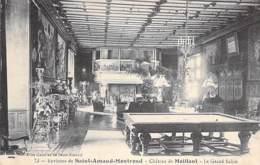 BILLARD Billiards - 18 MEILLANT ( Près ST AMAND MD ) Le Grand Salon - CPA - Biljart Billar Biliardo Bilhar - CHER Berry - Cartes Postales