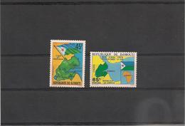 DJIBOUTI Année 1977 Indépendance   N° Y/T :458/459** - Djibouti (1977-...)