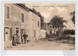 SIGNEULX ..-- MUSSON ..-- Café Des Cyclistes . 1921 Vers HAECHT ( Melle Florentine DE BACKER ) . Voir Verso . - Musson