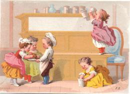 Chromo Les 7 Pechés Mortels, La Gourmandise. Peccati Capitali, Gola. Edouard De Beaumont. Testu Massin 32-70/4. - Autres
