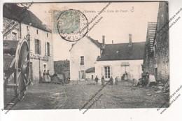 RARE CPA TORMANCY- MASSANGIS (89) : Un Coin De Pays (centre Du Village, Paysannes) - France