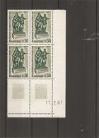 Andorre Français ( 181 En Coin Daté XXX -MNH) - Andorre Français