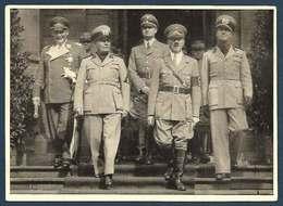 Allemagne -  Der Fürher Und Duce, Göring, Hess Und Ciano - Weltkrieg 1939-45