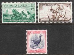 New Zealand  - Scott #313-15 MNH - Neuseeland