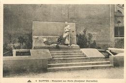SUIPPES MONUMENT AUX MORTS - Monuments Aux Morts