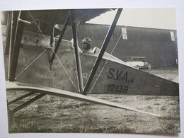 FOTOGRAFIA CENTOCELLE AMEDEO D'AOSTA IN PARTENZA PER VOLO DI BREVETTO 1926 - Aviation