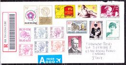 Belgio  Lettera  Per AScoli Piceno ( Italia ) - Unclassified