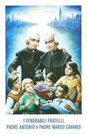 VENERABILI FRATELLI Padre ANTONIO E Padre MARCO CANAVIS   -   M - PR - Mm. 70 X 108 - Religione & Esoterismo