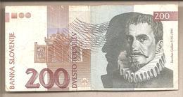 Slovenia - Banconota Circolata Da 200 Talleri P-15a - 1992 - Slovénie